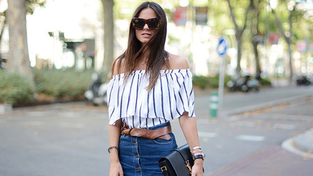 20 Outfit Ideas to Prove That You Need an Off-the-Shoulder T