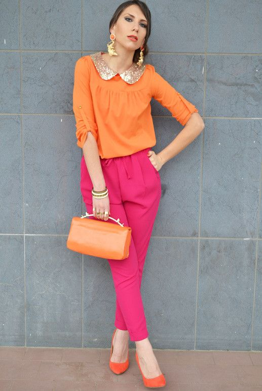 19 Color Block Outfits Ideas for Fabulous Look | Color blocking .