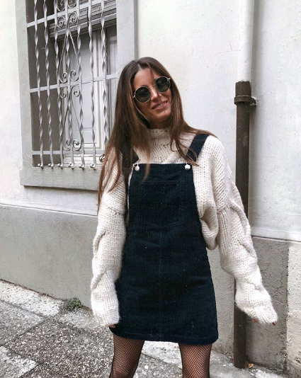 Found: The Best Overall Dress Outfits for Fall | Who What We