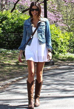 So, in love with this look :) All about the cowboy boots these .