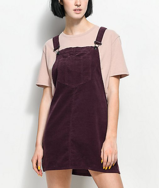 Crepe t shirt overall black apparel