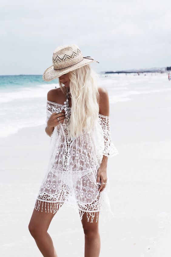 Crochet dress gypsy