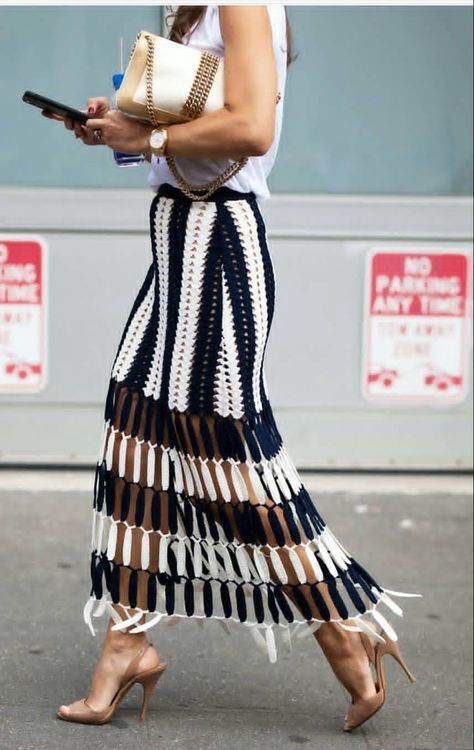 Best crochet skirt outfit ideas 23+ Ideas in 2020 | Crochet skirt .