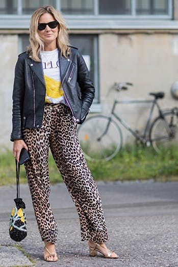 7 Chic Ways to Wear a Moto Jacket #purewow #outfit ideas #style .