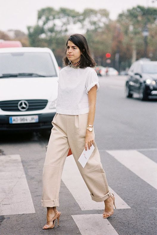short pants with wide leg chic casual