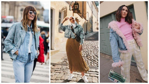 36 Cool Outfit Ideas to Wear Denim Jackets All Year Rou