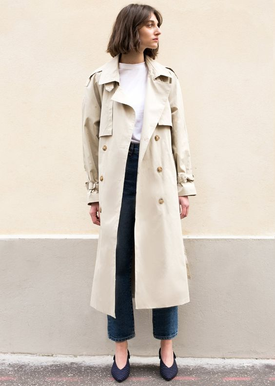 Double-breasted Trench Classic jacket