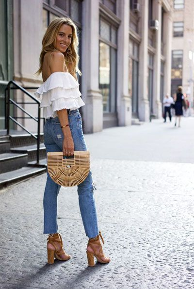 15 Dressy Jeans Outfit Ideas to Try This Summer | Dressy jeans .