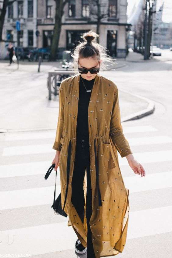 Printed feather duster jacket