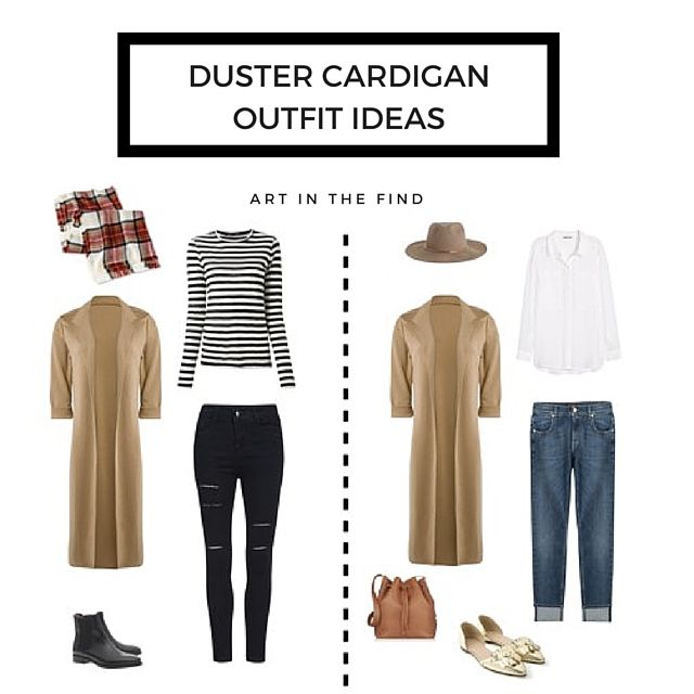 How to Wear a Duster Cardigan - Art in the Find | Duster cardigan .
