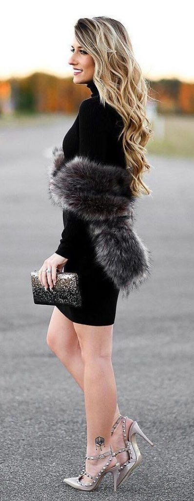 11 Classy Cocktail Dresses for Winter - Outfit Ideas