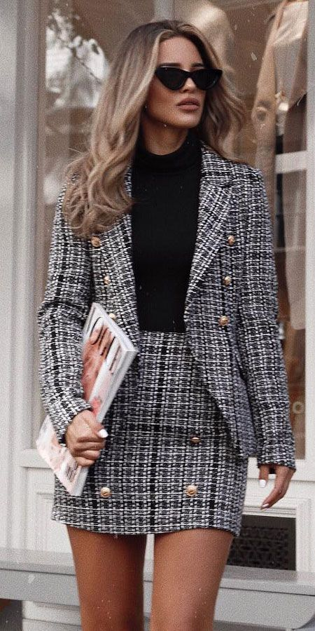 25 Women's Blazer Outfit Ideas To Conquer Everything - Hi Giggle .