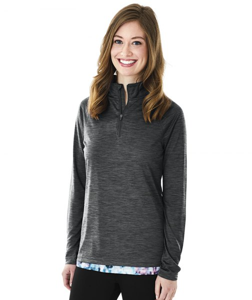 mottled gray, replica golf sweater with black skinny jeans