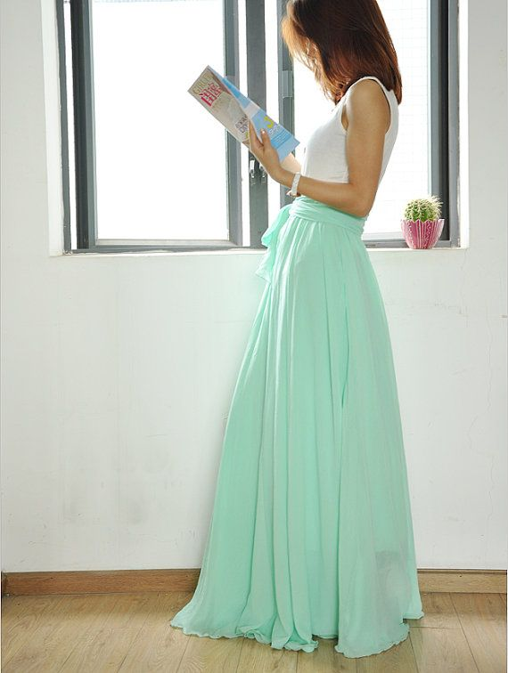 This item is unavailable | High waisted maxi skirt, Fashion .