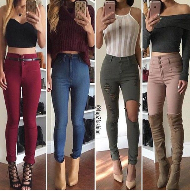 High Rise Shorts Amazingly Outfit Ideas for Women – kadininmodasi .
