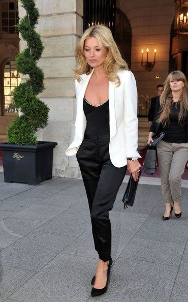 Stylist Tips: 10 Ways to Wear A White Blazer | Katie Rushton .
