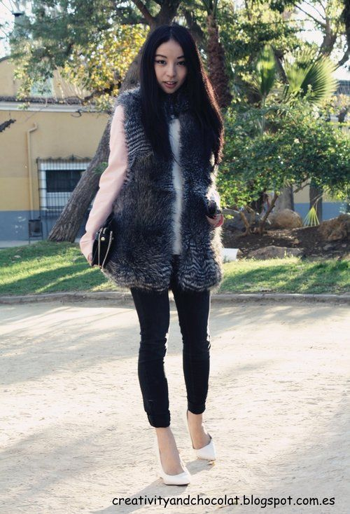 Style Guide: How to wear Faux Fur vest? | Fab Fashion F