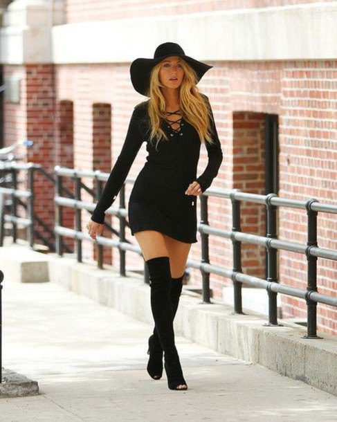 How to Style Black Floppy Hat: 12 Top Outfit Ideas - FMag.c