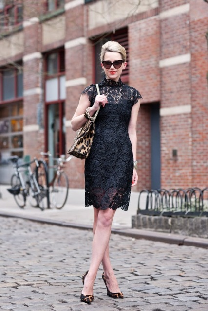 24 Adorable Outfits With Leopard Print Shoes - Styleohol