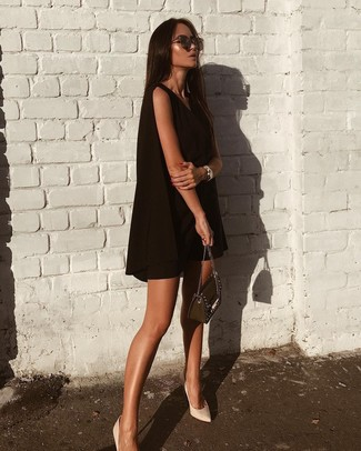 Black Swing Dress Outfits (29 ideas & outfits) | Lookast