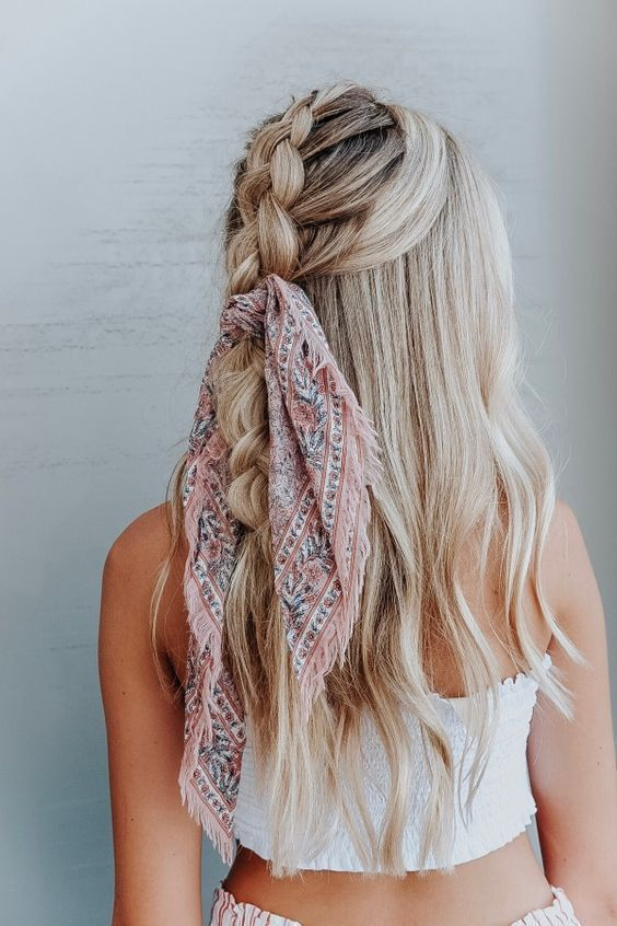 Head Scarf, Bandana and Bow Hairstyle | 25 Hair Ideas | Vera .