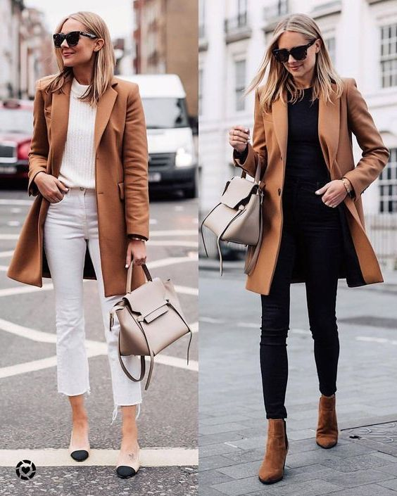 31 Ways How To Wear Camel Coats For Women 2020 - LadyFashioniser.c