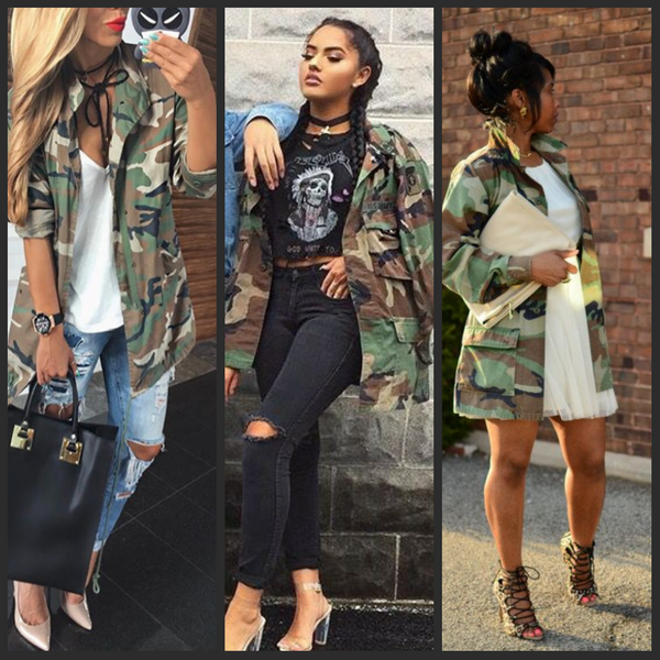 Image of Vintage Traditional Camo Jacket | Camouflage fashion .