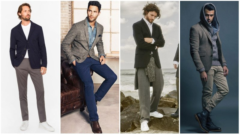 How to Wear a Casual Blazer for Men - The Trend Spott