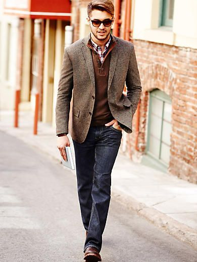 Stylist Tip for Men: How to Wear a Sport Coat | Casual sport coats .