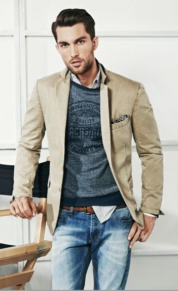 Stylist Tip for Men: How to Wear a Sport Coat | Mens casual .