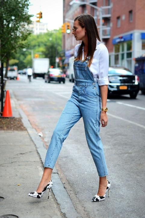 12 Cute Ways To Style Overalls This Summer | Fashion, Overalls .