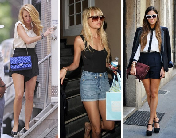 How to Wear High Waisted Shorts - College Fashi