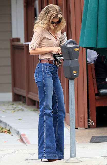 Stylish Starlets: Trendy or Tacky: 70's Bell Bottom Jeans | Denim .