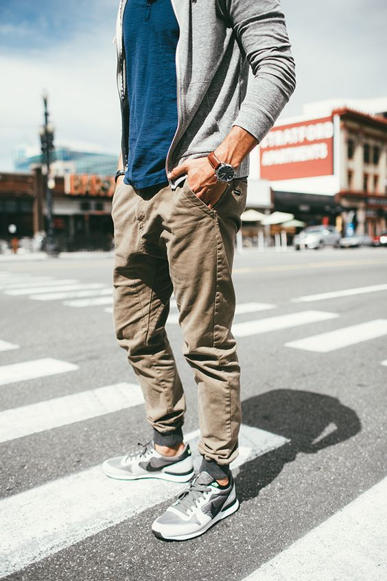 Men's Outfit with Jogger Pants- 30 Ways to Wear Jogger Pan