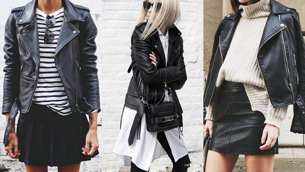 25 Ways to Wear Your Black Leather Jacket Like Never Befo