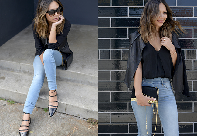 How to Style Light Wash Denim - Life With
