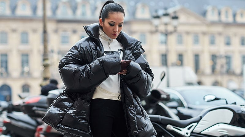 How to Wear a Puffer Jacket (Women's Style Guide) - The Trend Spott