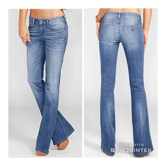 Guess Jeans | Low Rise Flare | Poshma