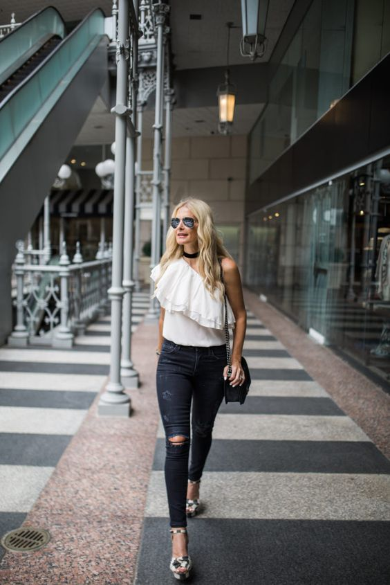 6 Ways to Wear One Shoulder Tops – Glam Rad