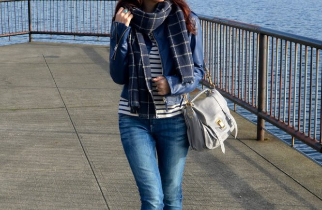 How To Style An Oversized Scarf - My Style Pi