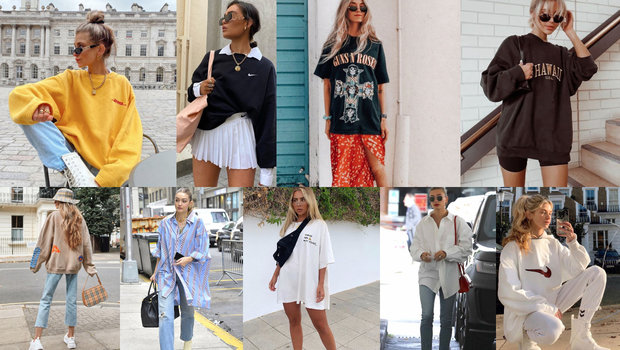 4 Smart Tips on How to Style Oversized Shir