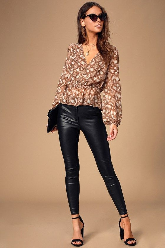 What To Wear With Peplum Tops 2020 - LadyFashioniser.c