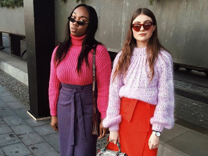 13 Pink Sweater Outfits We're Copying This Season | Who What We