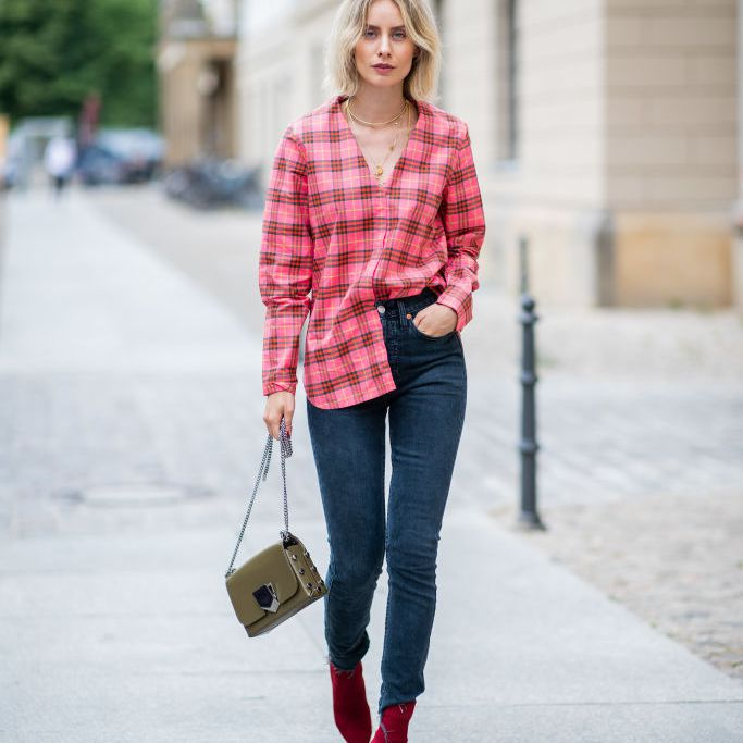10 Classy Plaid Shirt Outfits to Wear N