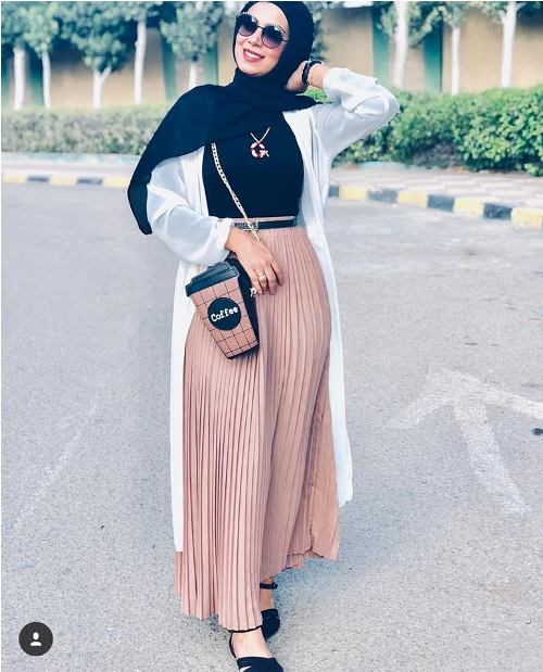 Pleated maxi skirts for woman | | Just Trendy Gir