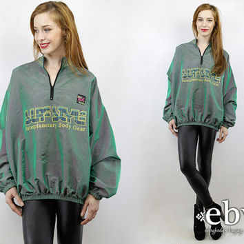 Vintage 90s Surf Style Iridescent Anorak from Everybody's Buyi
