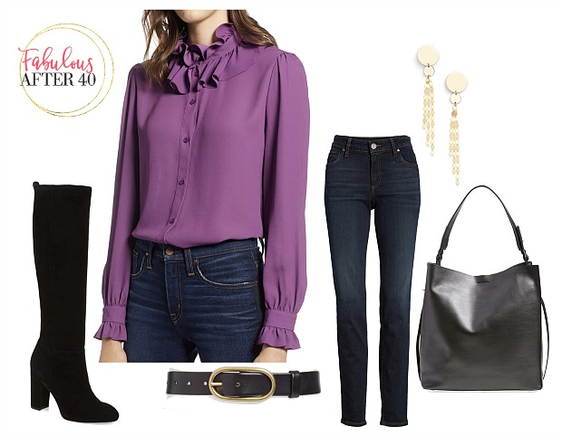 Pointers for Wearing Purple this Fa