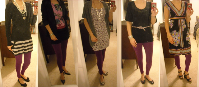 purple legging outfit ideas | Outfits with leggings, Purple .