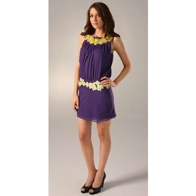 Purple and gold style | Purple dress, Mini dress, Blouson dre