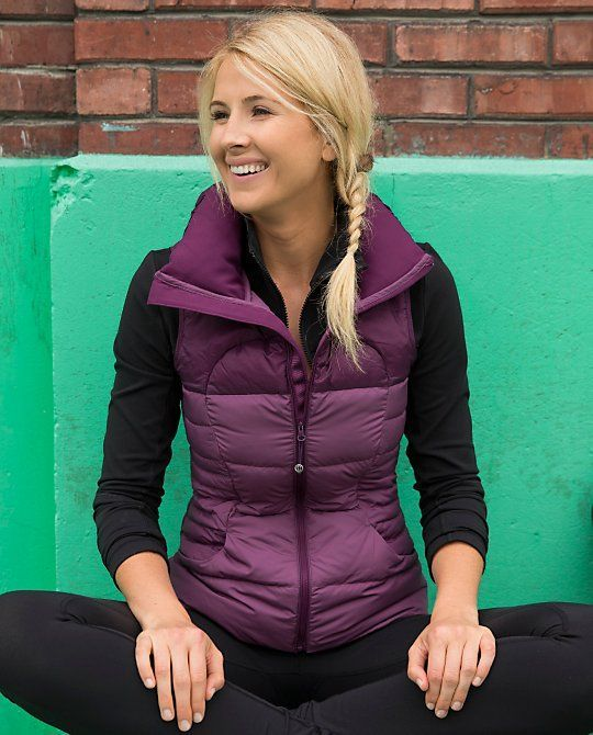 40 Cool Outfit Ideas with Puffy Vest | Vest outfits, Purple vests .